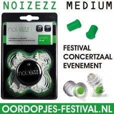 Noizezz Medium Green Evenement - Festival Oordopjes