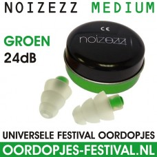 Noizezz Green Medium Plug Festival